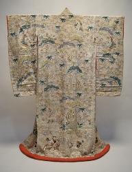 桧枝岐の歌舞伎衣装(打掛)