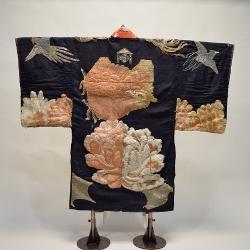 桧枝岐の歌舞伎衣装(祐経の羽織)