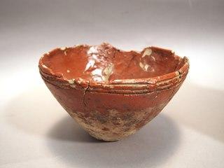 漆塗り土器 鉢(三島町荒屋敷遺跡)